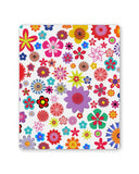 Buy Mousepads Online India | Floral Pattern Illustration Mouse Pad Online India