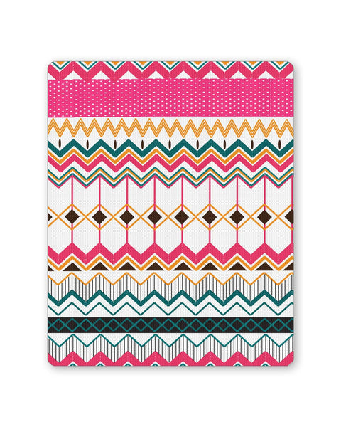 Buy Mousepads Online India | Artful Zig Zag Patterns?ÕÌ_ Mouse Pad Online India