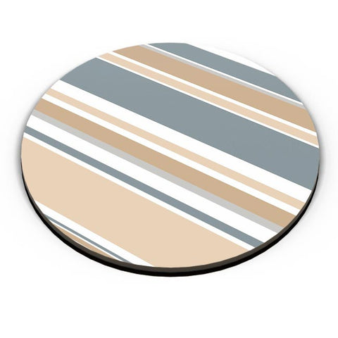 PosterGuy | CALM AND SOOTHING STRIPES Fridge Magnet Online India by Stuti Bajaj