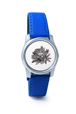 Women Wrist Watches India | Elephant Doodle Art Wrist Watch Online India