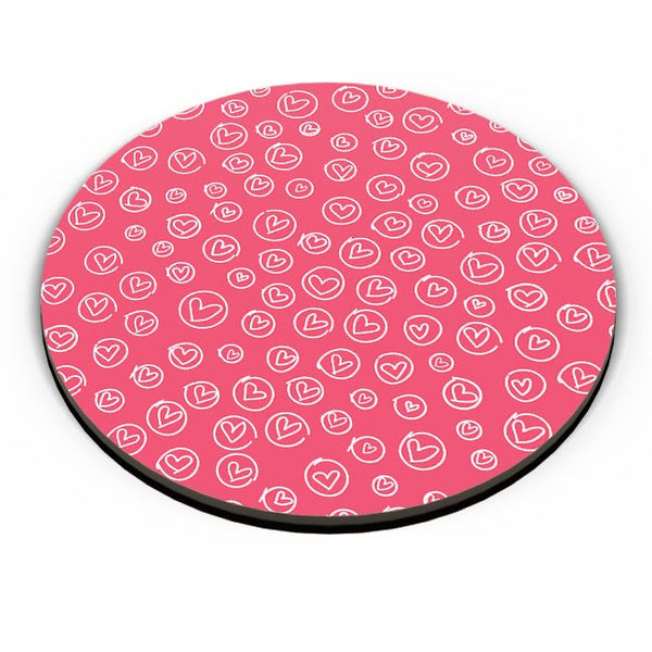 Cute heart print Fridge Magnet Online India