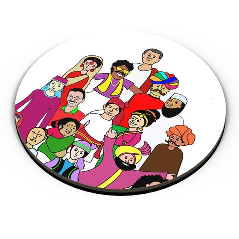 Colors Of India Fridge Magnet Online India
