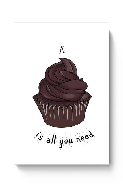 Buy Food , Chocolate ,Cupcake , Food Lover , Illustration , Cute  Poster