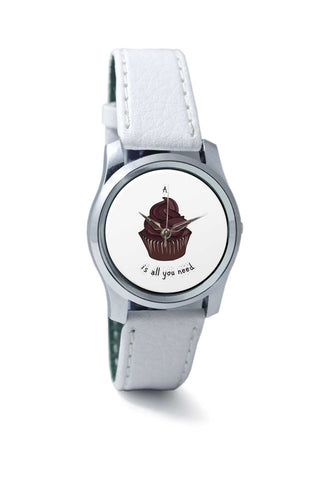 Women Wrist Watch India | A cupcake is all u need Wrist Watch Online India