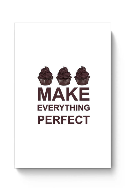 Buy Food , Chocolate ,Cupcake , Food Lover , Illustration , Life ,Sweet , Perfect, Dessert Poster