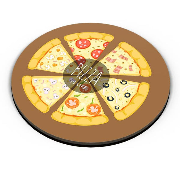 Pizza is life Fridge Magnet Online India