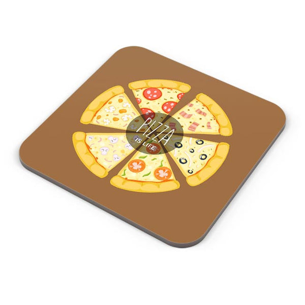 Pizza is life Coaster Online India