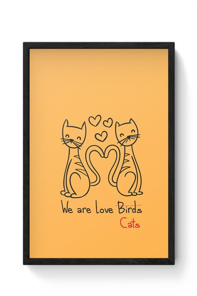 love Framed Poster Online India
