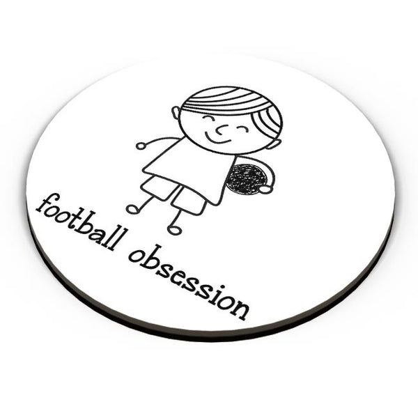 Football obsession Fridge Magnet Online India
