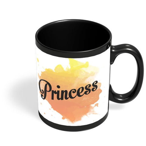 Princesss Black Coffee Mug Online India