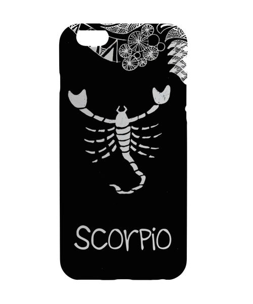 iPhone 6 Case & iPhone 6S Case | Scorpio Zodiac Sign iPhone 6 | iPhone 6S Case Online India | PosterGuy
