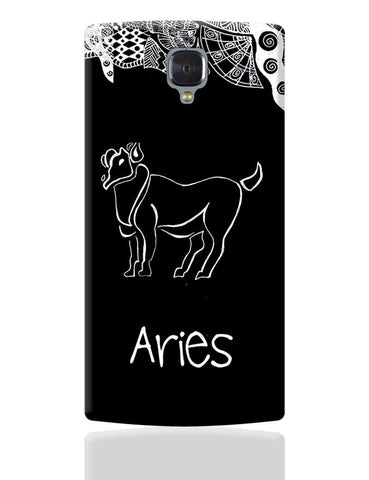 Aries Zodiac Sign OnePlus 3 Cover Online India