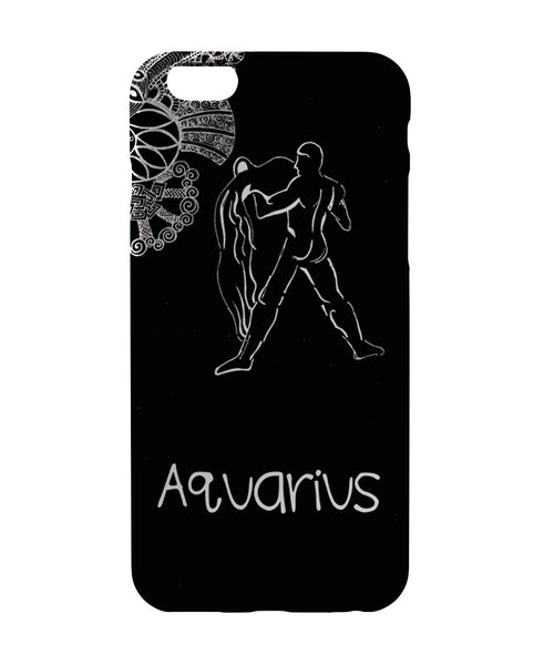 iPhone 6 Case & iPhone 6S Case | Aquarius Zodiac Sign iPhone 6 | iPhone 6S Case Online India | PosterGuy