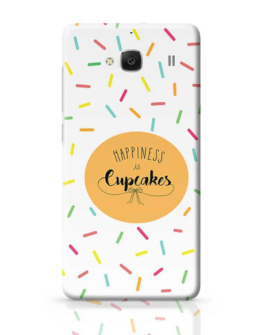Happiness is cupcake Redmi 2 / Redmi 2 Prime Covers Cases Online India
