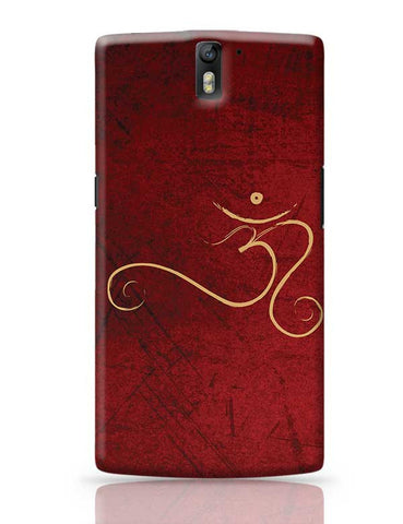 Om calligraphy OnePlus One Covers Cases Online India