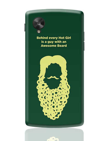 Awesome Beard Google Nexus 5 Covers Cases Online India