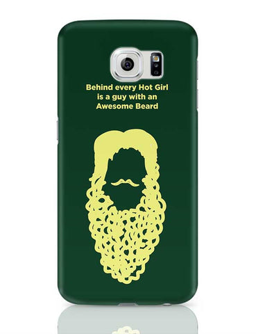 Awesome Beard Samsung Galaxy S6 Covers Cases Online India