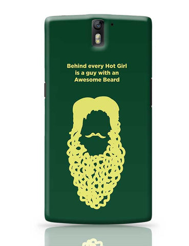 Awesome Beard OnePlus One Covers Cases Online India