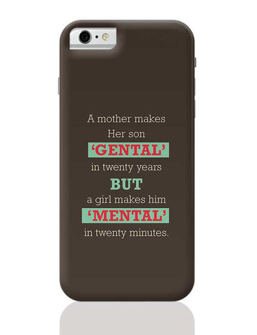 Mental iPhone 6 / 6S Covers Cases