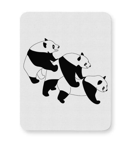 Three Pandas Mousepad Online India