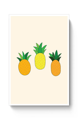 Cute Pineapples Poster Online India