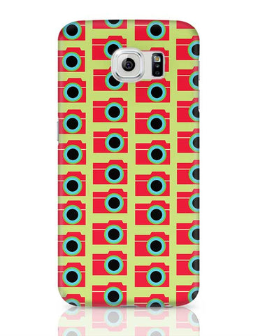 Camera Pattern Samsung Galaxy S6 Covers Cases Online India