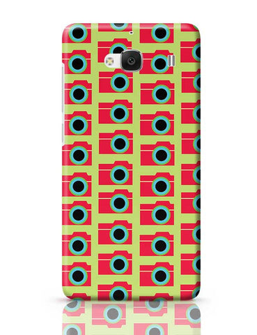 Camera Pattern Redmi 2 / Redmi 2 Prime Covers Cases Online India