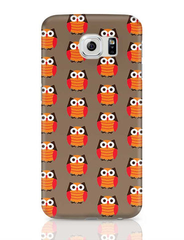 Cute Owl Pattern Samsung Galaxy S6 Covers Cases Online India