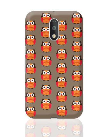 Cute Owl Pattern Moto G4 Plus Online India