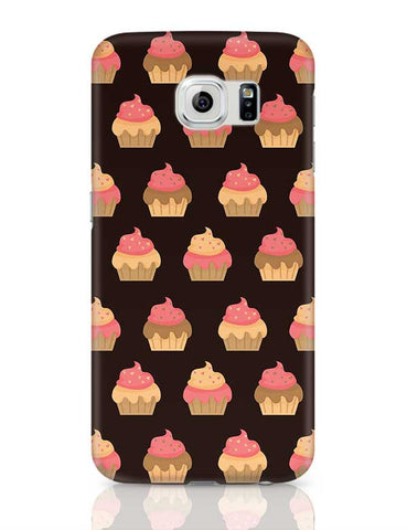 Cupcake Pattern Samsung Galaxy S6 Covers Cases Online India