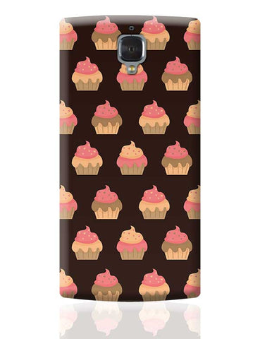 Cupcake Pattern OnePlus 3 Covers Cases Online India