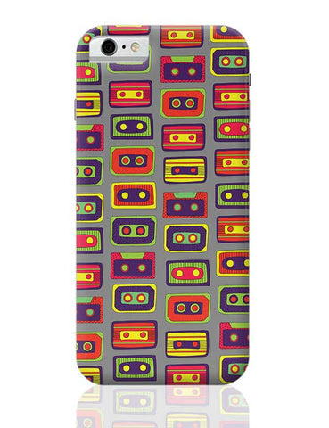 Cassette Pattern iPhone 6 / 6S Covers Cases