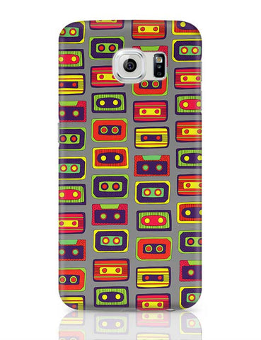 Cassette Pattern Samsung Galaxy S6 Covers Cases Online India