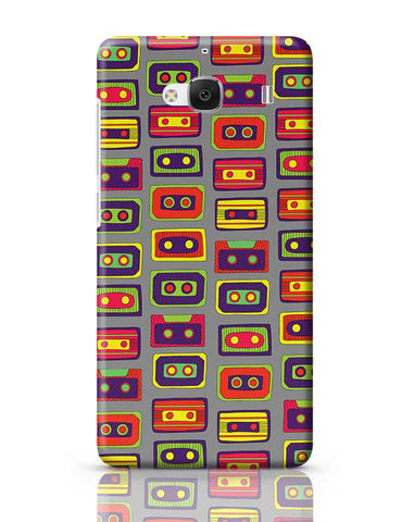 Cassette Pattern Redmi 2 / Redmi 2 Prime Covers Cases Online India