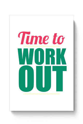 Time to Work Out Poster Online India