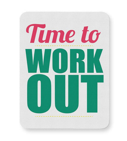 Time to Work Out Mousepad Online India