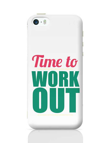 Time to Work Out iPhone 5/5S Covers Cases Online India