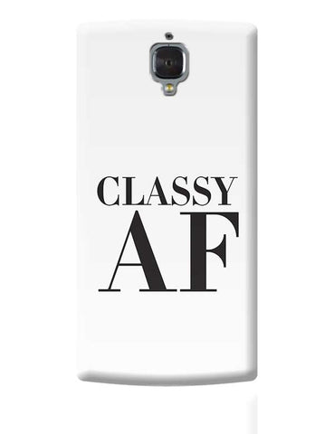 Classy AF OnePlus 3 Covers Cases Online India