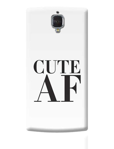 Cute AF OnePlus 3 Covers Cases Online India