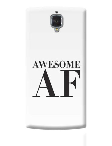 Awesome AF OnePlus 3 Covers Cases Online India
