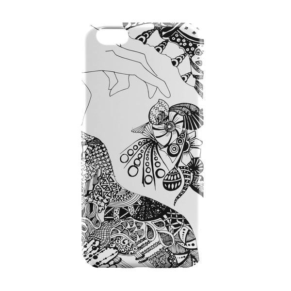 iPhone 6 Case & iPhone 6S Case | Black Line Art Hand Doodle Black iPhone 6 | iPhone 6S Case by Stuti Online India | PosterGuy