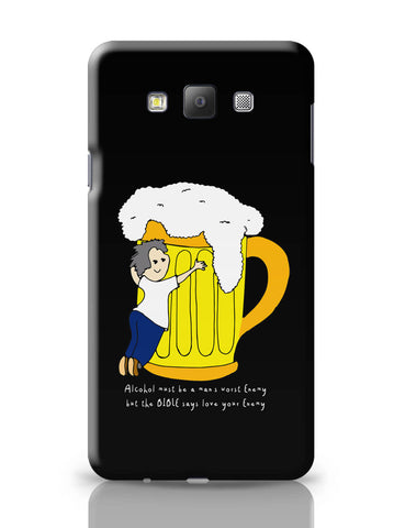 Samsung Galaxy A7 Covers | Beer Love Your Enemy Samsung Galaxy A7 Covers Online India