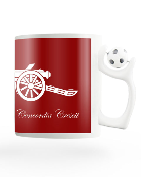 Victoria Concordia Crescit Rotating Football Coffee Mug Online India