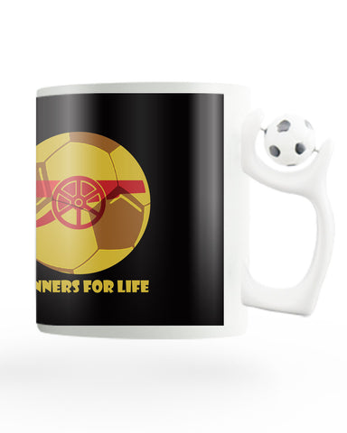 Gunners for Life Rotating Football Coffee Mug Online India