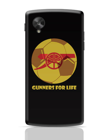 Google Nexus 5 Covers | Gunners for Life Google Nexus 5 Cover Online India