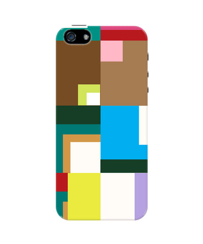 The Blissful Geometric Art iPhone 5/5S Case by Tanvi