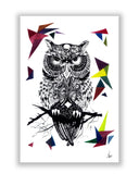 Buy Art Posters Online | The Guardian of the Night Owl Poster | PosterGuy.in