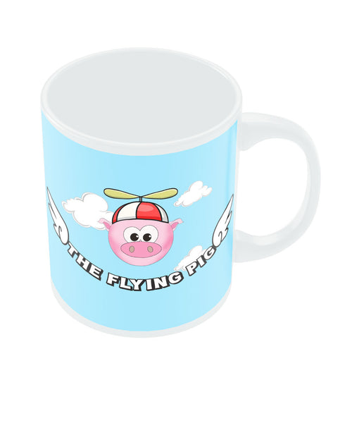 The Flying Pig Mug by Keerthana