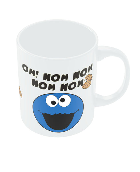 Buy Mugs Online India Om! Nom Nom Cookie White Mug