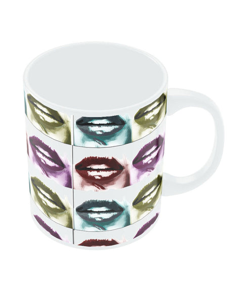 Sexy Lips Colour Coffee Mug